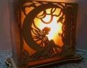Соляная лампа Фея фото