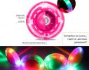 Скакалка светящаяся на одну ногу Розовая фото 5