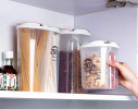 Контейнер пищевой для сыпучих продуктов 2отд 2.5л фото 4