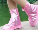 Дождевик для обуви Розовый фото