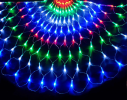Гирлянда сетка 240 led 3.5х0.7м фото 5
