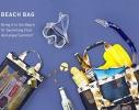 Летняя сумочка для пляжа прорезиненная фото 2, купить, цена