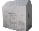 Картонный домик-раскраска фото 1