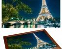 Поднос - столик на подушке Ночной Париж фото 1