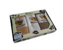 Набор вафельных кухонных полотенец Espresso 70х45 см Lotus фото
