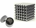 Магнитная игрушка головоломка конструктор антистресс Неокуб Neocube 216 шариков 5 мм фото