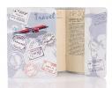 Кожаная обложка на паспорт Travel фото 1