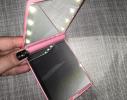 Карманное зеркало для макияжа складное с LED подсветкой фото