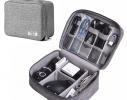 Сумка - органайзер для хранения кабелей Серая фото 1