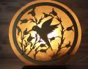 Соляная лампа Птица фото 1