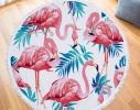 Пляжный коврик Четыре фламинго фото