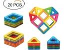 Магнитный развивающий 3D конструктор Mag Puzzle 20 Деталей фото 1, купить, цена