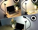 Подставка - держатель на прищепке с подсветкой Professional Live Stream фото 2