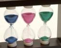 Оригинальный сувенир Декоративные песочные часы тройные фото 2, цена, купить