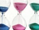 Оригинальный сувенир Декоративные песочные часы тройные фото 3, цена, купить