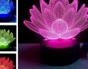 """LED ночник / светильник """"Лотос"""". Меняет 7 цветов фото, купить, цена"""