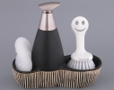Набор для мыла с губкой и щеткой Классика фото