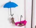 """Крючок - ключница универсальная """"Зонтики"""" для ключей, очков и мелочей фото 3, купить, цена"""