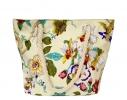 Летняя текстильная сумка для пляжа и прогулок Цветы фото 5