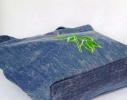 Летняя джинсовая сумка для пляжа и прогулок фото 2