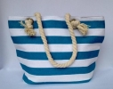 Пляжная текстильная сумка для детей и подростков в полоску фото 5