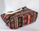 Пляжная текстильная летняя сумка для пляжа и прогулок орнамент Индия фото 2