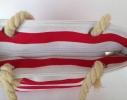 Пляжная текстильная сумка для детей и подростков в полоску фото 4