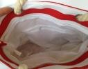 Пляжная текстильная сумка для детей и подростков в полоску фото 3