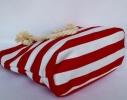 Пляжная текстильная сумка для детей и подростков в полоску фото 2