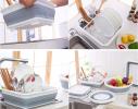 Складная универсальная сушилка для посуды и продуктов фото 7