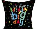 Подушка Birthday 30х30 см фото