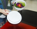 Овощерезка для салатов 3 в 1. Salad Cutter Bowl, Слайсер - миска с подставкой фото 3