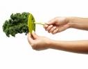 Нож для зачистки зелени, кале, мангольд фото 2