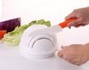 Овощерезка для салатов 3 в 1. Salad Cutter Bowl, Слайсер - миска с подставкой фото 4