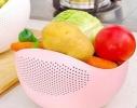 Миска 2-в-1 для фруктов, овощей, риса фото 2