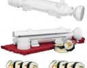 Форма для приготовления суши Bazooka Sushezi, форма для начики в суши и голубцы фото