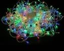 Гирлянда-штора Дождь LED 200 мультик с белым проводом фото