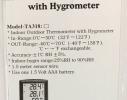 Термометр-гигрометр с выносным датчиком TA-318 фото 2