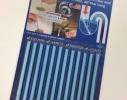Палочки для очистки вoдocтoчныx труб, слива раковин и ванн SANI STICKS 12 шт. фото 3