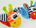 Браслетики с погремушками 2 шт. фото