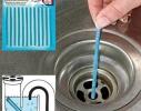 Палочки для очистки вoдocтoчныx труб, слива раковин и ванн SANI STICKS 12 шт. фото 1