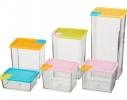 Набор контейнеров для сыпучих продуктов 6 шт. фото 4