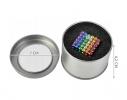 Магнитная игрушка головоломка конструктор антистресс Неокуб Neocube разноцветный 216 шариков 5 мм фото 7