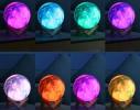 Настольный светильник 3D MOON LAMP Месяц 15 см Цветной фото 7
