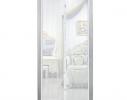 Клонировать Дверная антимоскитная сетка Magnetic Mesh на магнитах белая фото 3