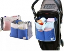 Сумка на коляску для детских вещей и мелочей Синяя фото 3