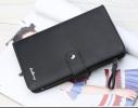 Мужской кошелек клатч портмоне барсетка Baellerry черный фото 1
