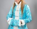 Костюм для взрослых Снегурочка Голубой фото 3