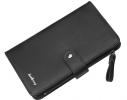 Мужской кошелек клатч портмоне барсетка Baellerry черный фото
