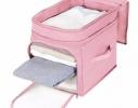 Кофр - органайзер для игрушек и вещей Бамбук розовый фото 1